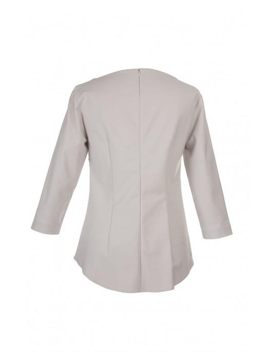 Szara elegancka bluzka