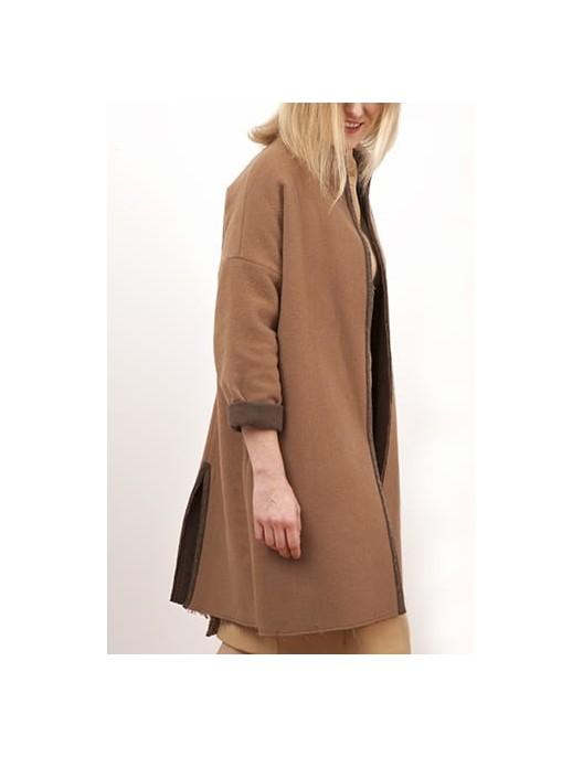 Płaszcz - narzutka