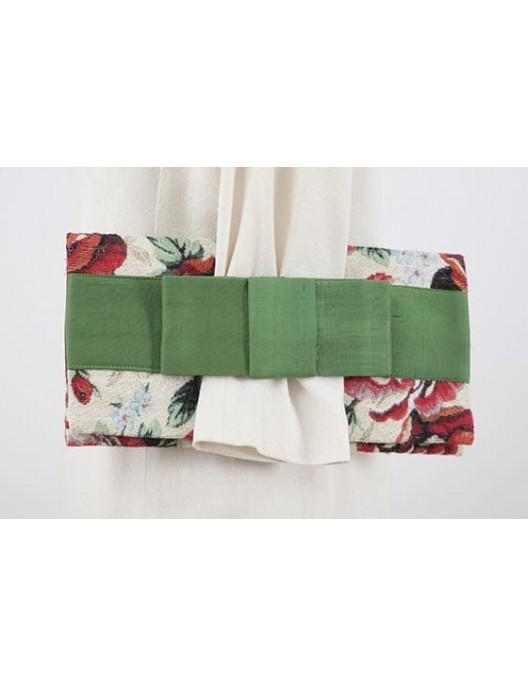 Kopertówka w róże z zieloną...