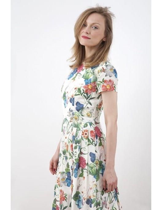 """Sukienka """"kwiaty letnie"""""""