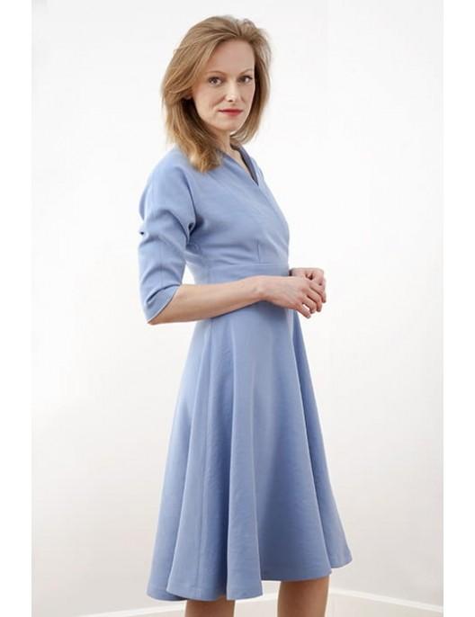 """Sukienka z półklosza """"chmurka"""""""