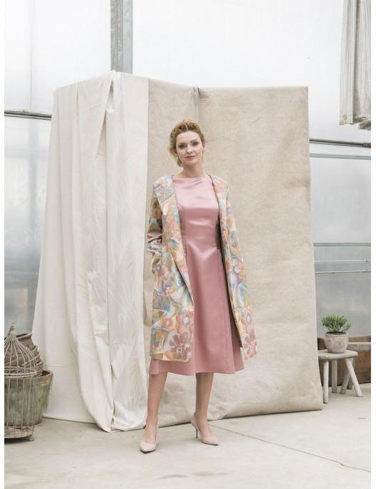 Pink dress - delicate shine