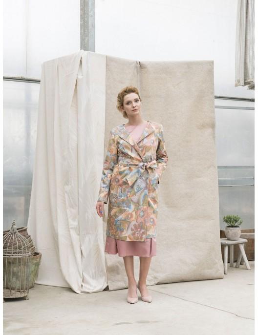 Fairytale pattern coat