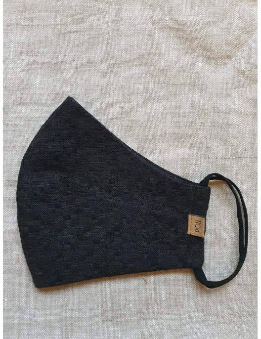 Black protective mask from...