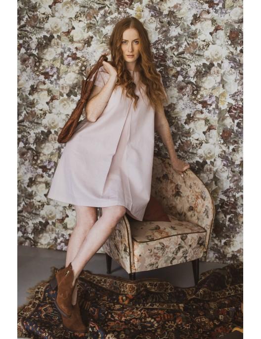 Linen twiggy dress in a...