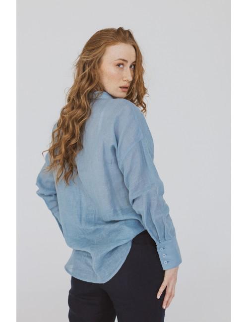 Light blue shirt made of...