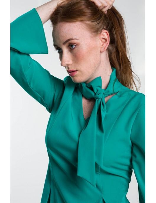 """Sukienka wiskozowa """"zielone..."""